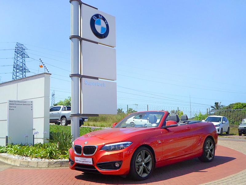 2018 BMW 2 Series 220i Convertible Sport Line Auto F23 Kwazulu Natal Durban_0