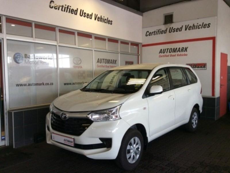 2019 Toyota Avanza 1.3 SX Mpumalanga Witbank_0