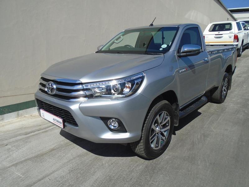 2018 Toyota Hilux 2.8 GD-6 Raider 4x4 Single Cab Bakkie Auto Gauteng Rosettenville_0