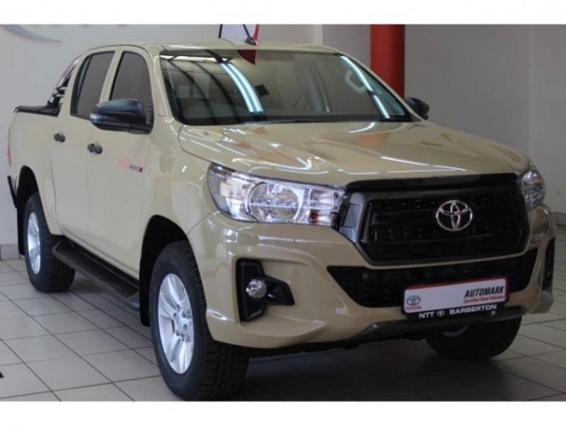 2019 Toyota Hilux 2.4 GD-6 SRX 4X4 Auto Double Cab Bakkie Mpumalanga Barberton_0