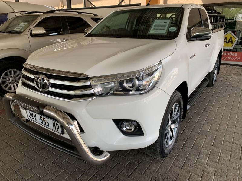 2018 Toyota Hilux 2.8 GD-6 RB Raider PU ECAB Mpumalanga Secunda_0