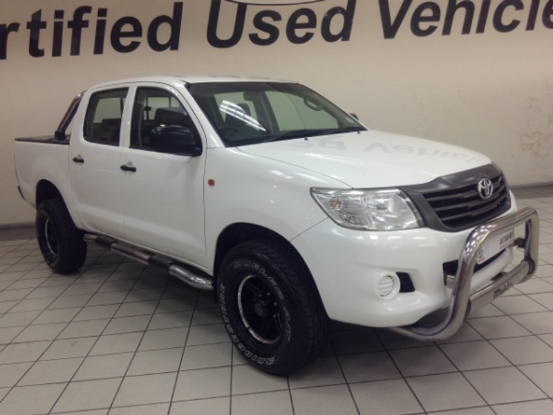 2016 Toyota Hilux 2.5d-4d Srx 4x4 Pu Dc  Limpopo Tzaneen_0
