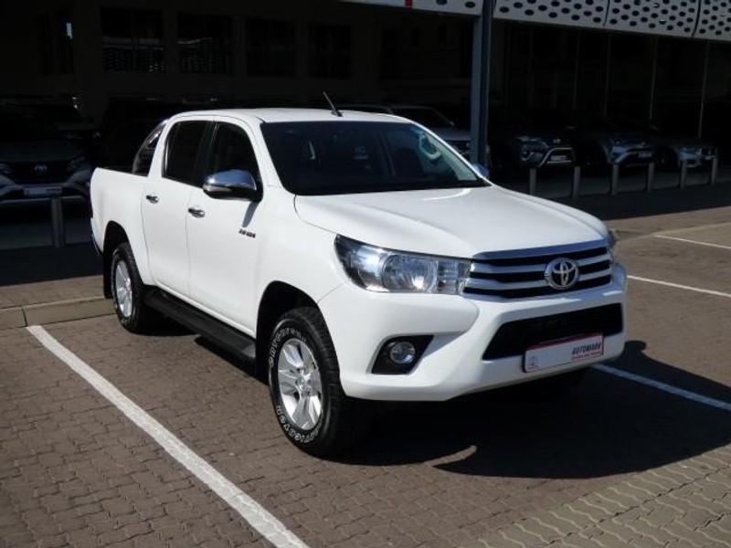 2016 Toyota Hilux 2.8 GD-6 Raider 4X4 Double Cab Bakkie Auto Mpumalanga Secunda_0