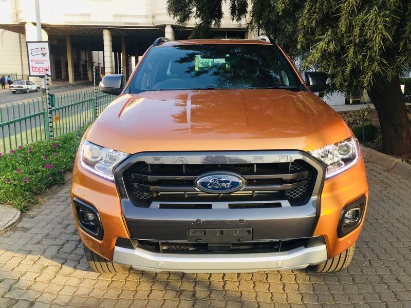 2020 Ford Ranger 2.0TDCi Wildtrak Auto Double Cab Bakkie Gauteng Johannesburg_0