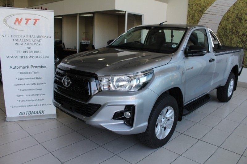2019 Toyota Hilux 2.4 GD-6 RB SRX Single Cab Bakkie Limpopo Phalaborwa_0