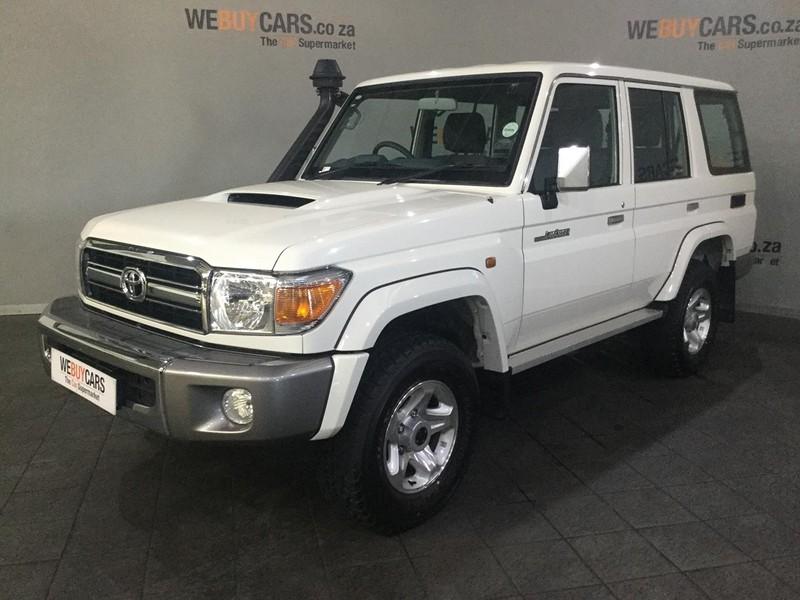 2018 Toyota Land Cruiser 70 4.5D V8 SW Western Cape Cape Town_0