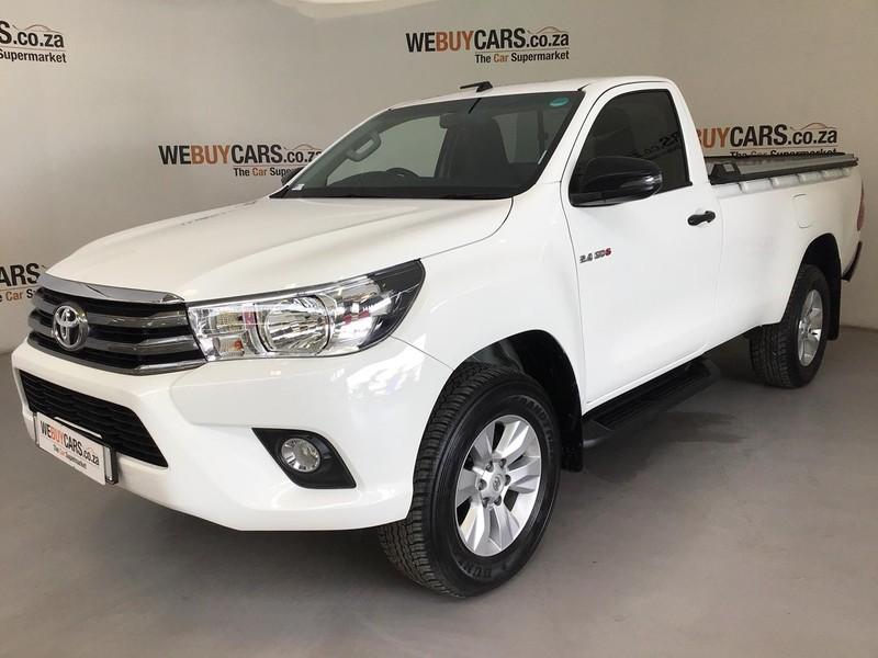 2018 Toyota Hilux 2.4 GD-6 SRX 4X4 Single Cab Bakkie Auto Eastern Cape Port Elizabeth_0