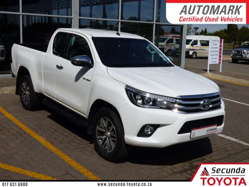 2018 Toyota Hilux 2.8 GD-6 Raider 4x4 Extended Cab Bakkie Mpumalanga Secunda_0