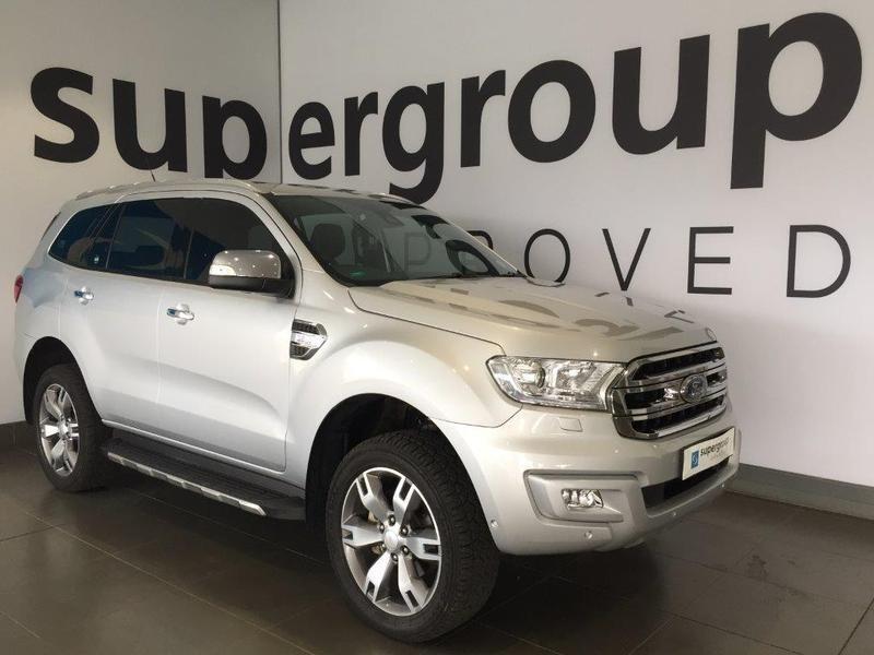 2017 Ford Everest 3.2 LTD 4X4 Auto Gauteng Pretoria_0