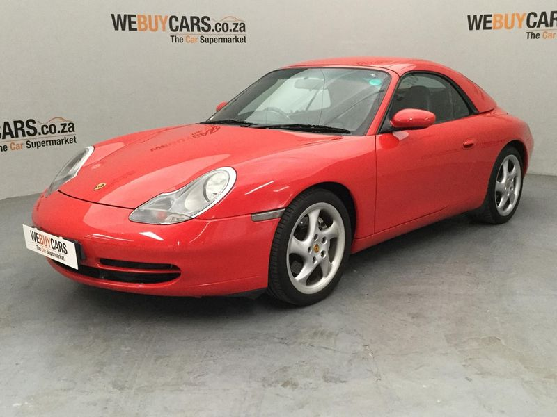 2001 Porsche 911 Carrera 4 Cabriolet 996  Gauteng Pretoria_0