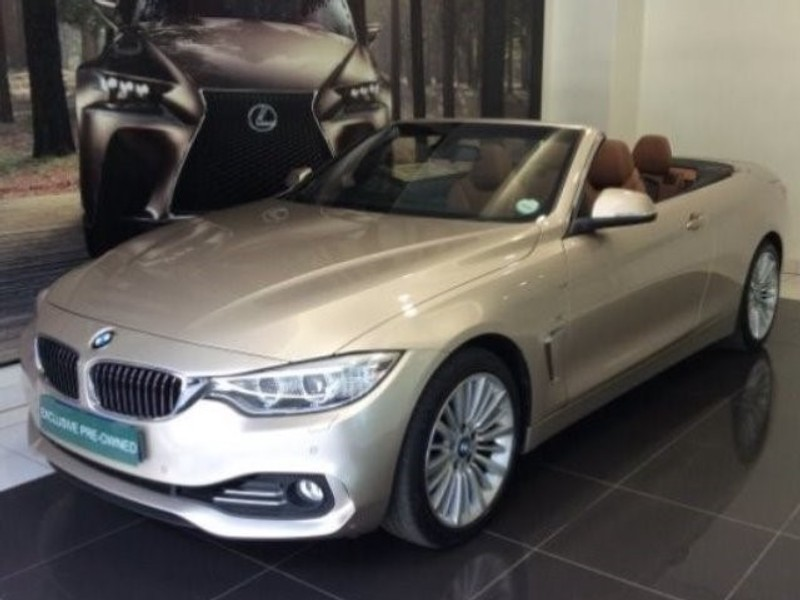 2015 BMW 4 Series 420i Convertible Luxury Line Gauteng Centurion_0