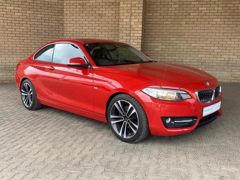 2016 BMW 2 Series 220D Sport Line Auto Gauteng Johannesburg_0