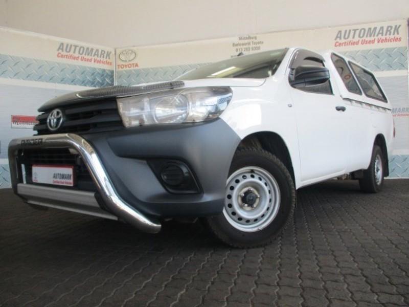 2019 Toyota Hilux 2.4 GD AC Single Cab Bakkie Mpumalanga Middelburg_0