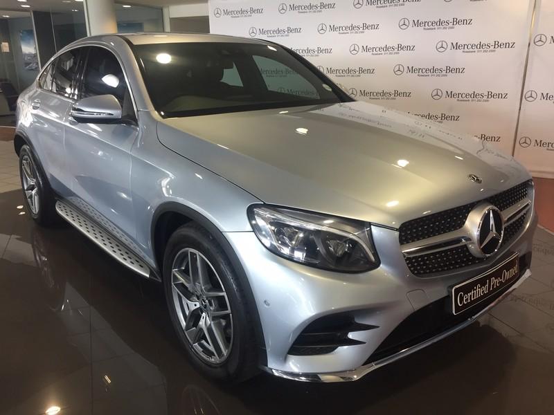 2017 Mercedes-Benz GLC Coupe 350d AMG Gauteng Johannesburg_0