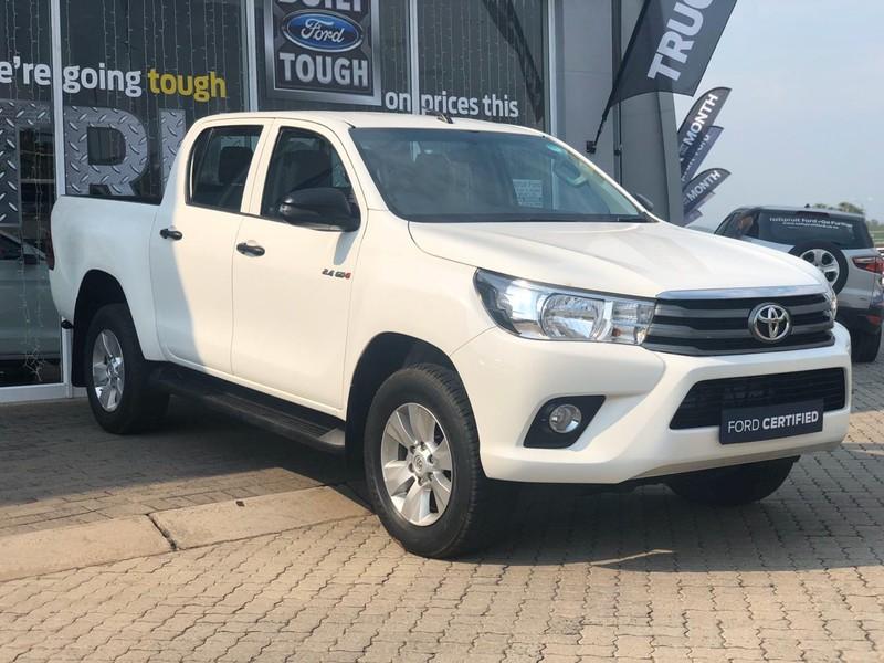 2018 Toyota Hilux 2.4 GD-6 SRX 4x4 Double Cab Bakkie Mpumalanga Nelspruit_0