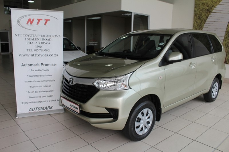 2019 Toyota Avanza 1.5 SX Limpopo Phalaborwa_0