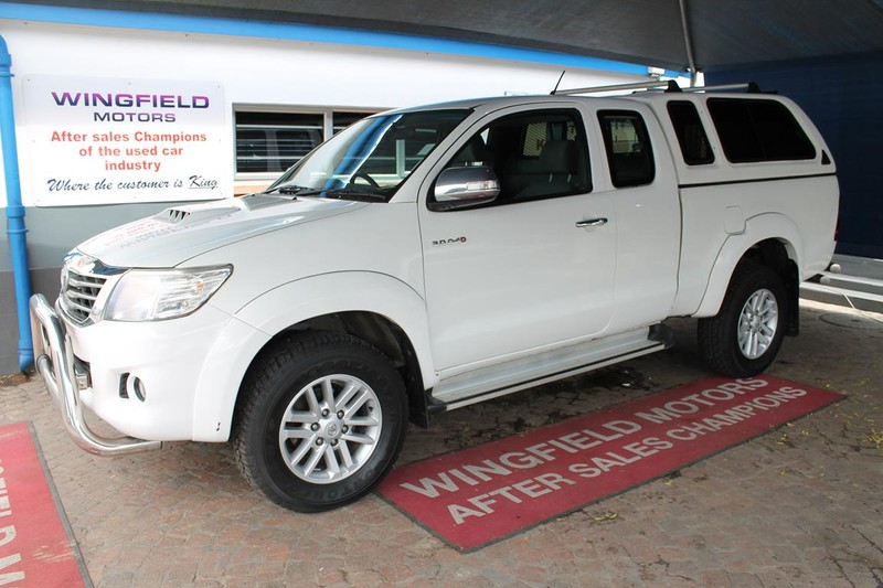 2014 Toyota Hilux 3.0d-4d Raider Xtra Cab Pu Sc  Western Cape Kuils River_0