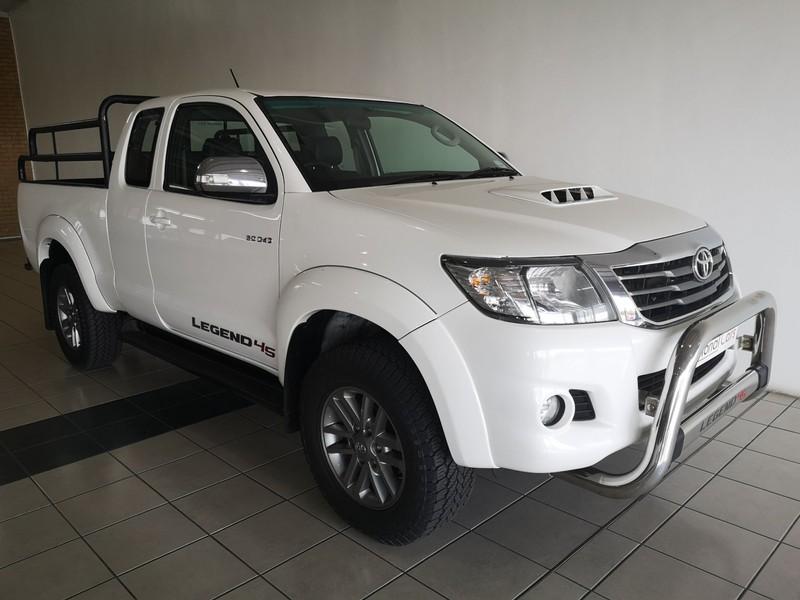 2015 Toyota Hilux 3.0D-4D LEGEND 45 4X4 XTRA CAB PU Mpumalanga Secunda_0