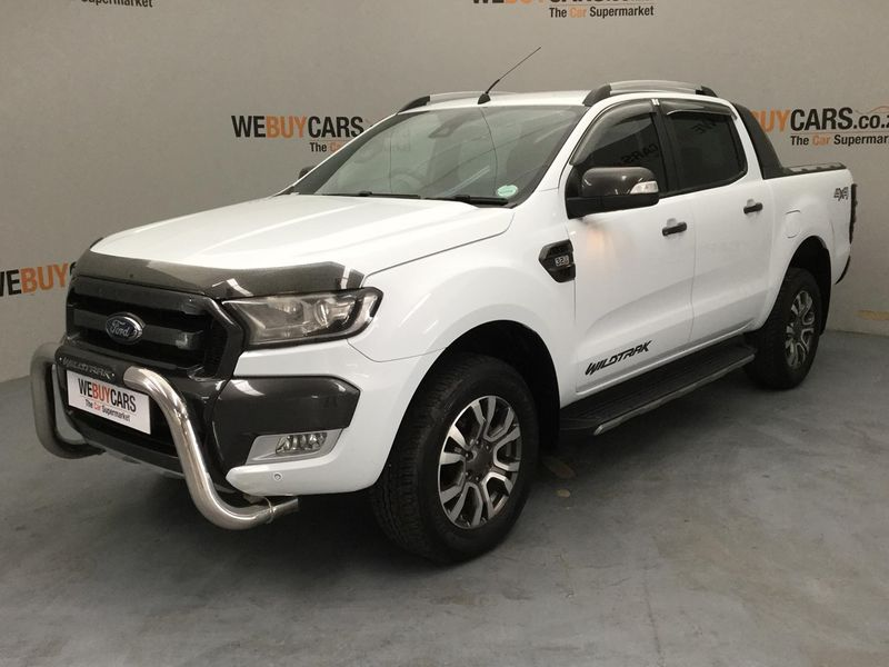 2017 Ford Ranger 3.2TDCi WILDTRAK 4X2 Double Cab Bakkie Gauteng Pretoria_0
