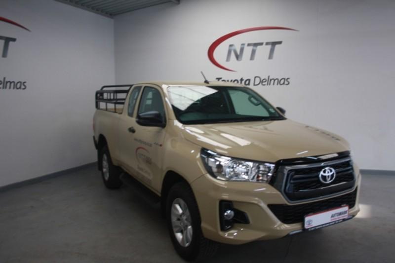2019 Toyota Hilux 2.4 GD-6 RB SRX AT PU ECAB Mpumalanga Delmas_0