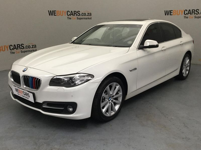 2016 BMW 5 Series 520i Auto Luxury Line Gauteng Pretoria_0