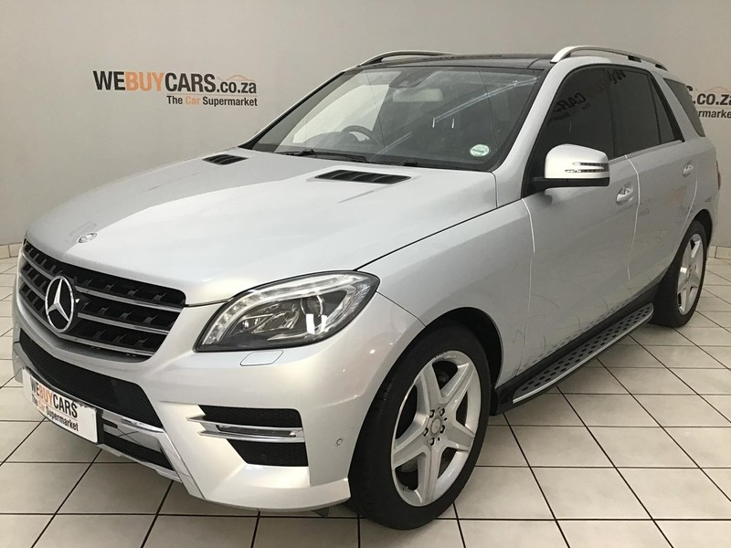 2014 Mercedes-Benz M-Class Ml 500 Be  Gauteng Centurion_0