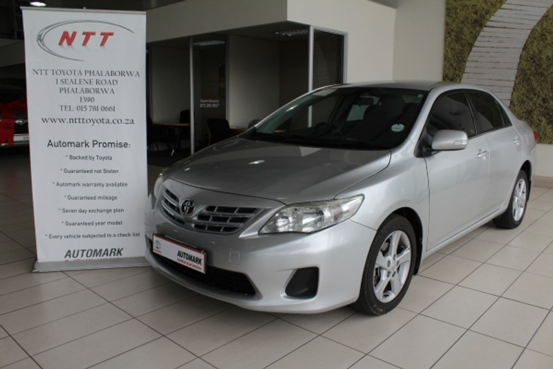 2013 Toyota Corolla 1.6 Advanced At  Limpopo Phalaborwa_0