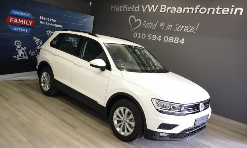 2019 Volkswagen Tiguan 1.4 TSI Trendline DSG 110KW Gauteng Johannesburg_0