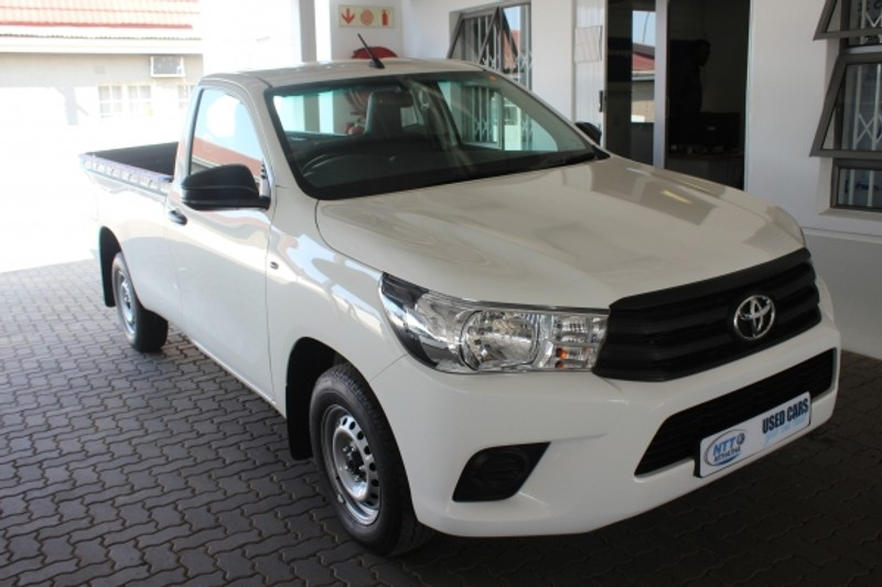 2018 Toyota Hilux 2.4 GD AC Single Cab Bakkie Eastern Cape Umtata_0