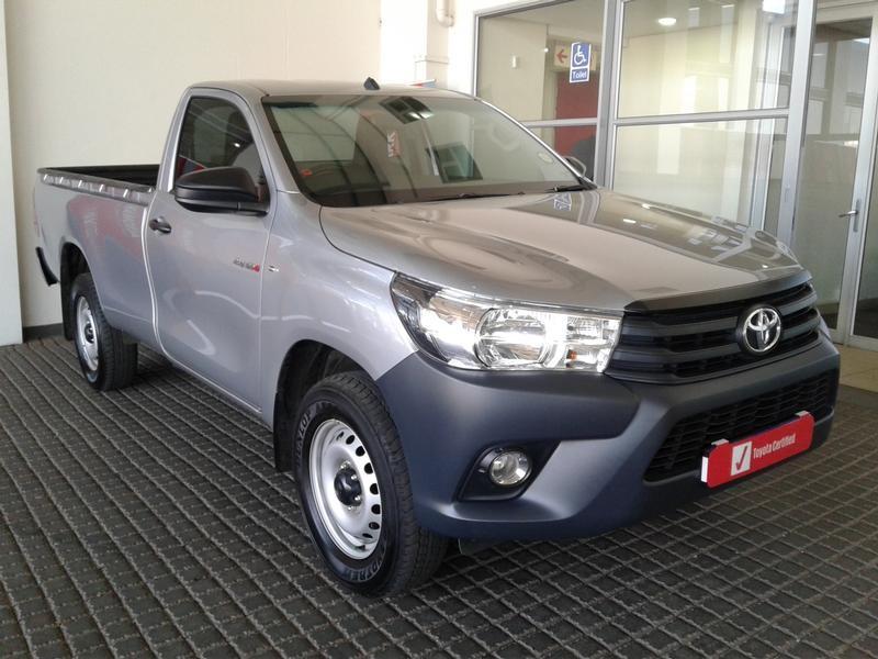 2019 Toyota Hilux 2.4 GD-6 SR Single Cab Bakkie Gauteng Rosettenville_0