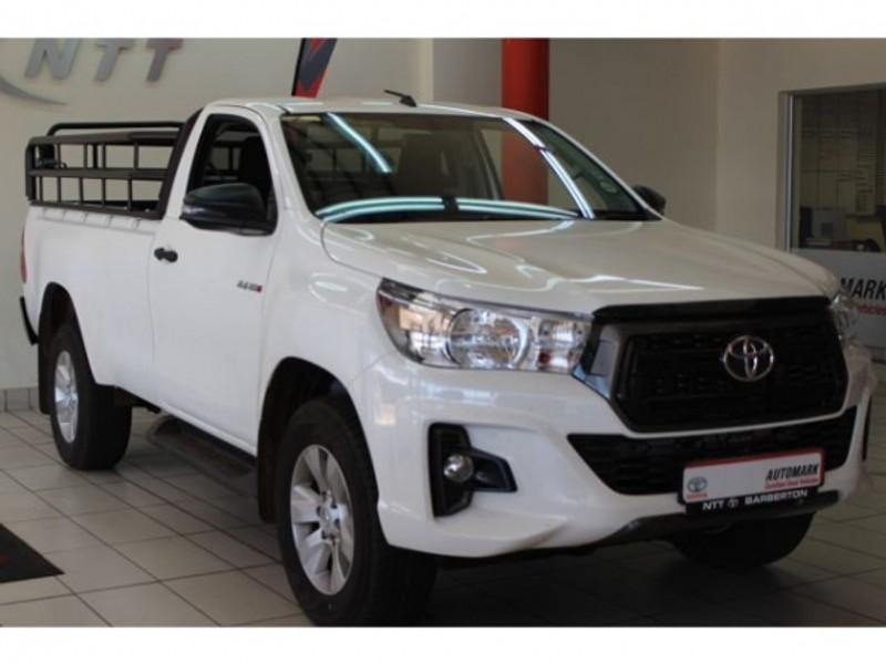2019 Toyota Hilux 2.4 GD-6 RB SRX Single Cab Bakkie Mpumalanga Barberton_0