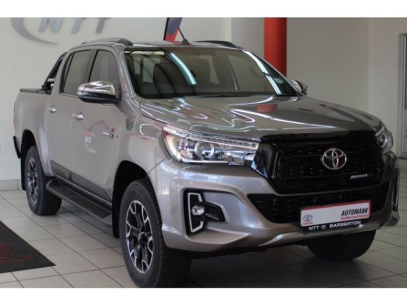 2019 Toyota Hilux 2.8 GD-6 Raider 4X4 Auto Double Cab Bakkie Mpumalanga Barberton_0