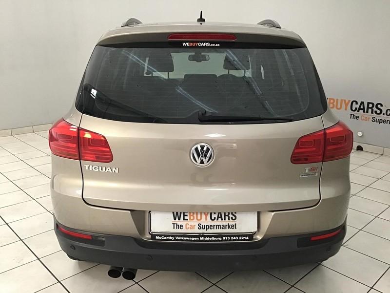 2013 Volkswagen Tiguan 1.4 Tsi Bmot Tren-fun Dsg 110kw  Gauteng Centurion_0