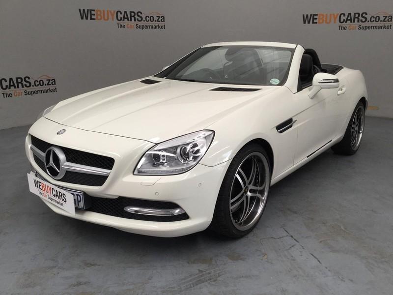 2013 Mercedes-Benz SLK-Class Slk 350 At  Gauteng Pretoria_0