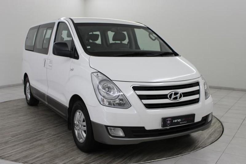 2017 Hyundai H1 Gls 2.4 Cvvt Wagon  Gauteng Boksburg_0