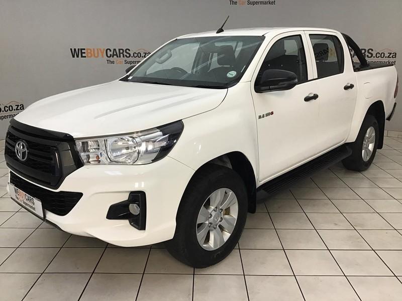 2019 Toyota Hilux 2.4 GD-6 RB SRX Double Cab Bakkie Gauteng Centurion_0