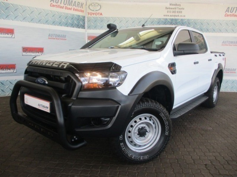 2017 Ford Ranger 2.2TDCi XL PLUS 4X4 Double Cab Bakkie Mpumalanga Middelburg_0