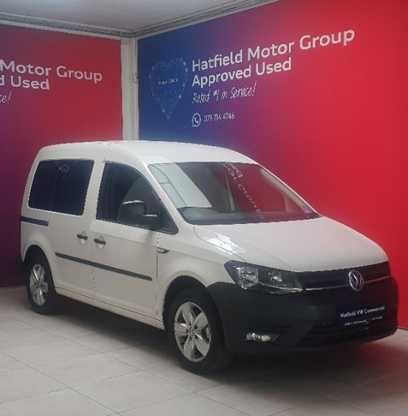 2020 Volkswagen Caddy Caddy4 Crewbus 1.6i 7-Seat Gauteng Pretoria_0