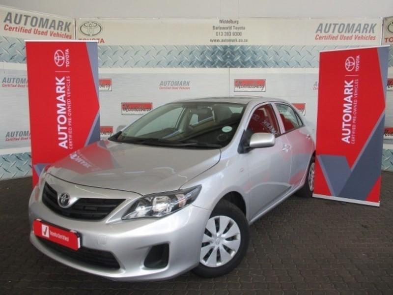 2018 Toyota Corolla Quest 1.6 Mpumalanga Middelburg_0