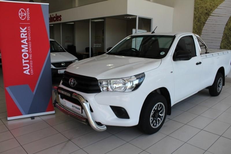 2018 Toyota Hilux 2.0 VVT Single Cab Bakkie Limpopo Phalaborwa_0