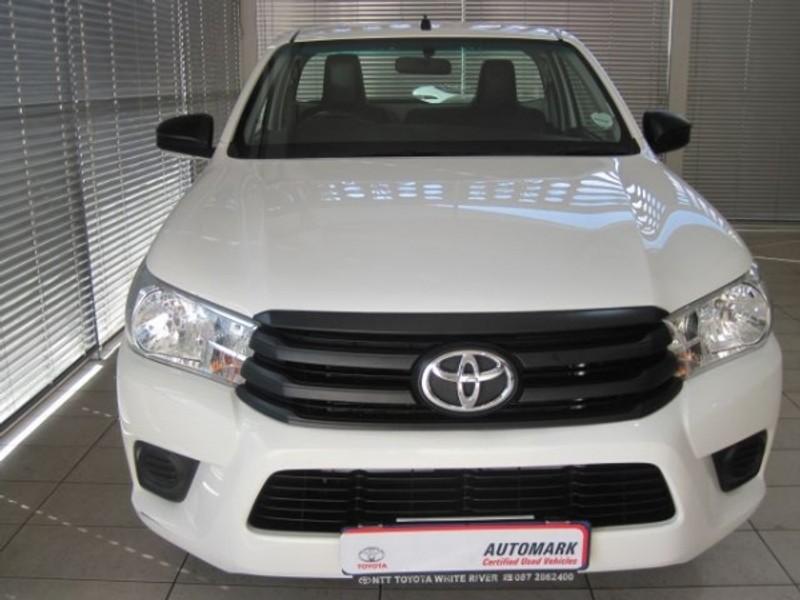 2018 Toyota Hilux 2.0 VVTi AC Single Cab Bakkie Mpumalanga White River_0