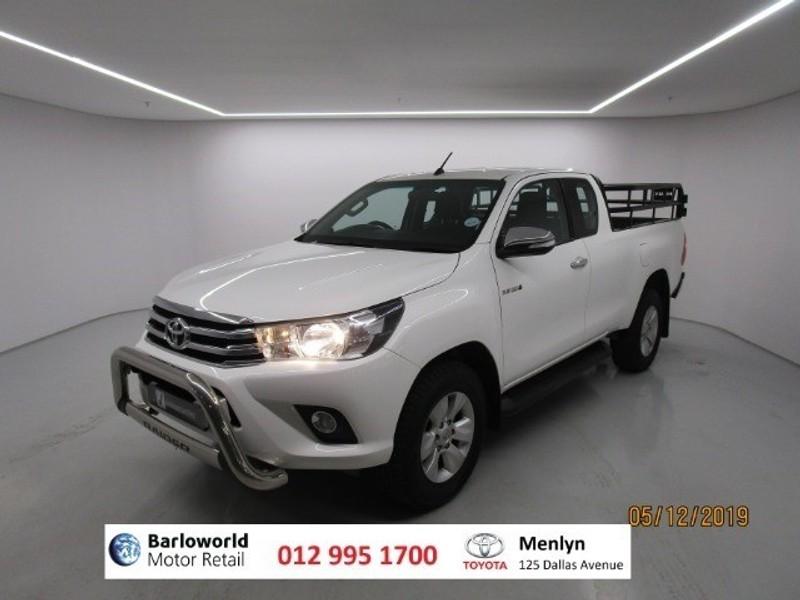 2017 Toyota Hilux 2.8 GD-6 RB Raider Extended Cab Bakkie Gauteng Pretoria_0