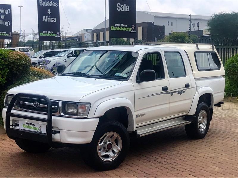 2000 Toyota Hilux 2700i Srx 4x4 Pu Dc  Gauteng Centurion_0