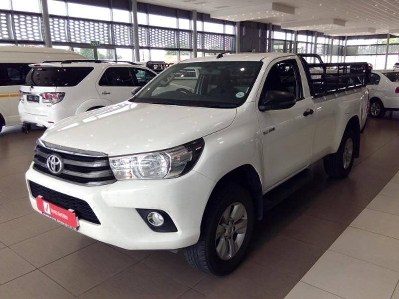 2018 Toyota Hilux 2.4 GD-6 RB SRX Single Cab Bakkie Limpopo Mokopane_0
