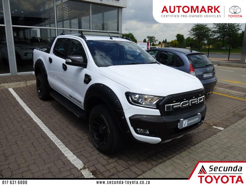 2017 Ford Ranger 3.2TDCi 3.2 WILDTRAK 4X4 Auto Double Cab Bakkie Mpumalanga Secunda_0
