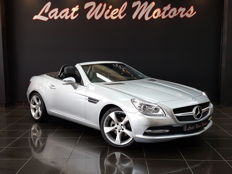 2012 Mercedes-Benz SLK-Class Slk 200 At  Mpumalanga Middelburg_0