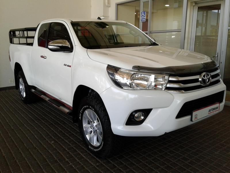 2016 Toyota Hilux 2.8 GD-6 Raider 4x4 Extended Cab Bakkie Gauteng Rosettenville_0