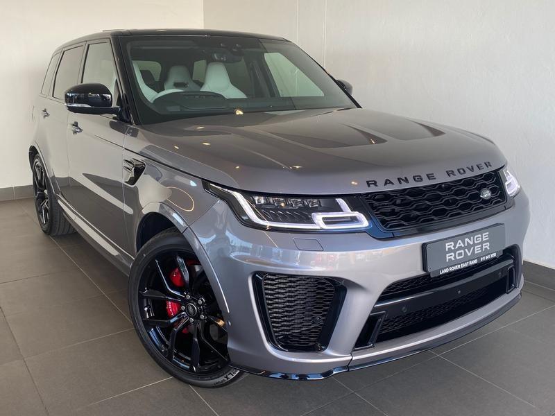 2020 Land Rover Range Rover Sport 5.0 V8 SVR 423KW Gauteng Johannesburg_0
