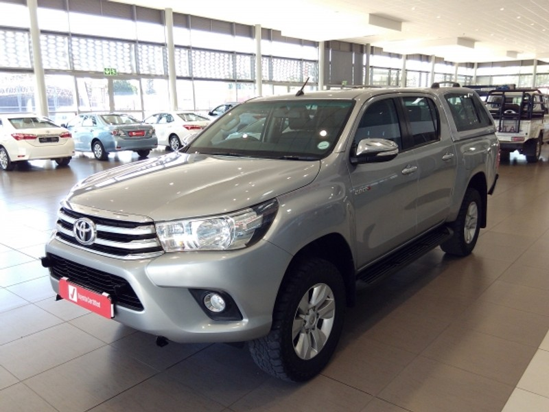 2016 Toyota Hilux 2.8 GD-6 Raider 4X4 Double Cab Bakkie Auto Limpopo Mokopane_0