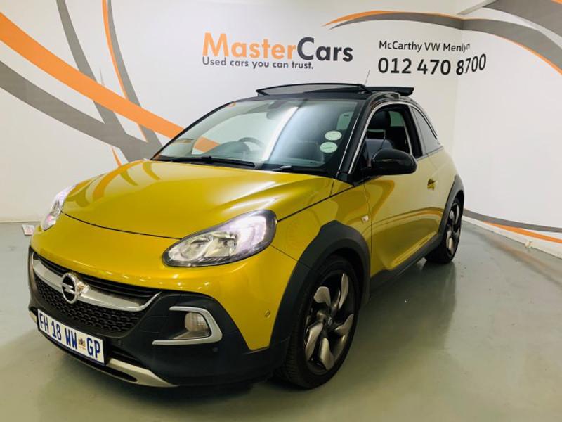 2016 Opel Adam 1.0T Rocks 3-Door Gauteng Pretoria_0